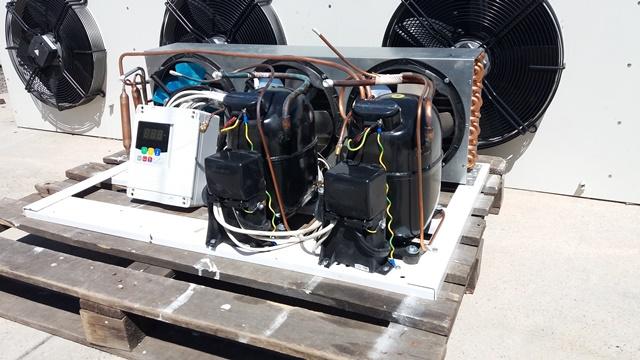 Холодильная сплит-система на базе двух Aspera NJ9232GK