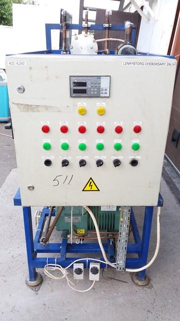 Холодильная централь на базе двух Bitzer 4СC