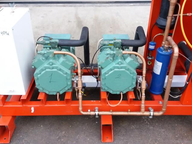 Холодильная централь на базе двух Bitzer 4DC-7,2y-40S