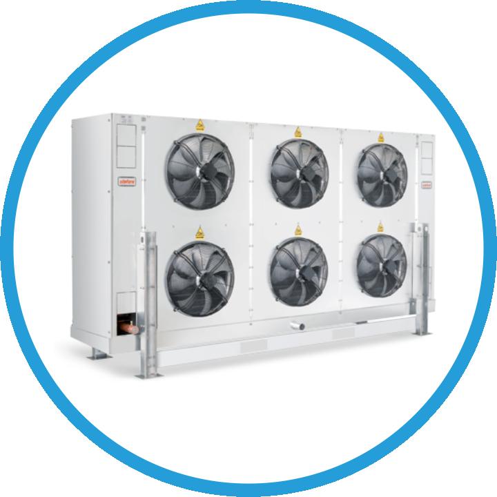 Агрегаты, воздухоохладители, конденсаторы