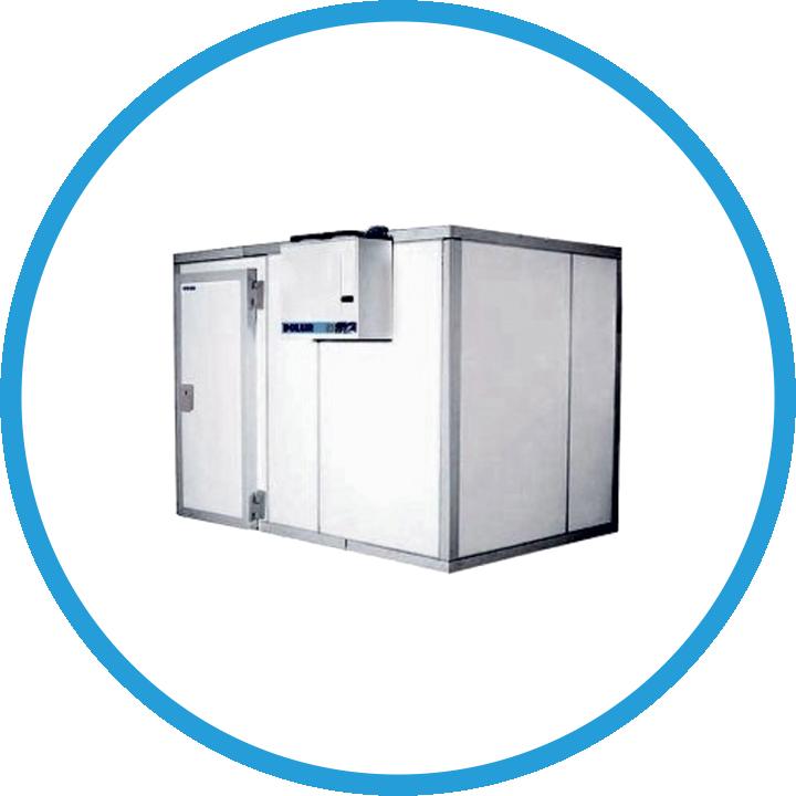 Холодильные камеры в комплекте с моноблоками