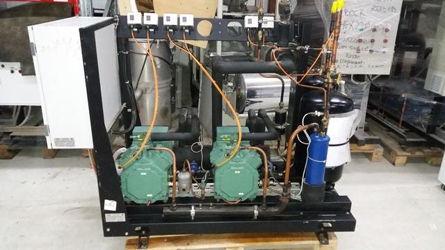 Холодильная централь на базе двух Bitzer 4FC-5,2Y-40S