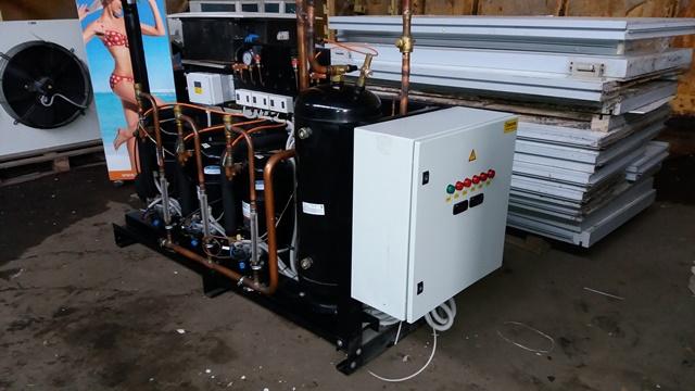 Холодильная централь на базе Copeland ZBD76+ZB50+ZB50